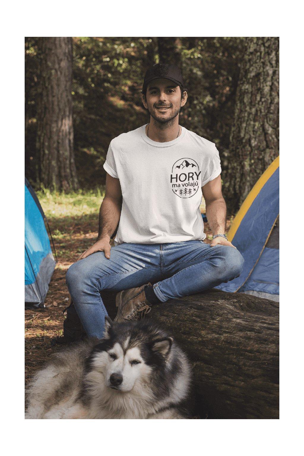 Pánske tričko Hory ma volajú