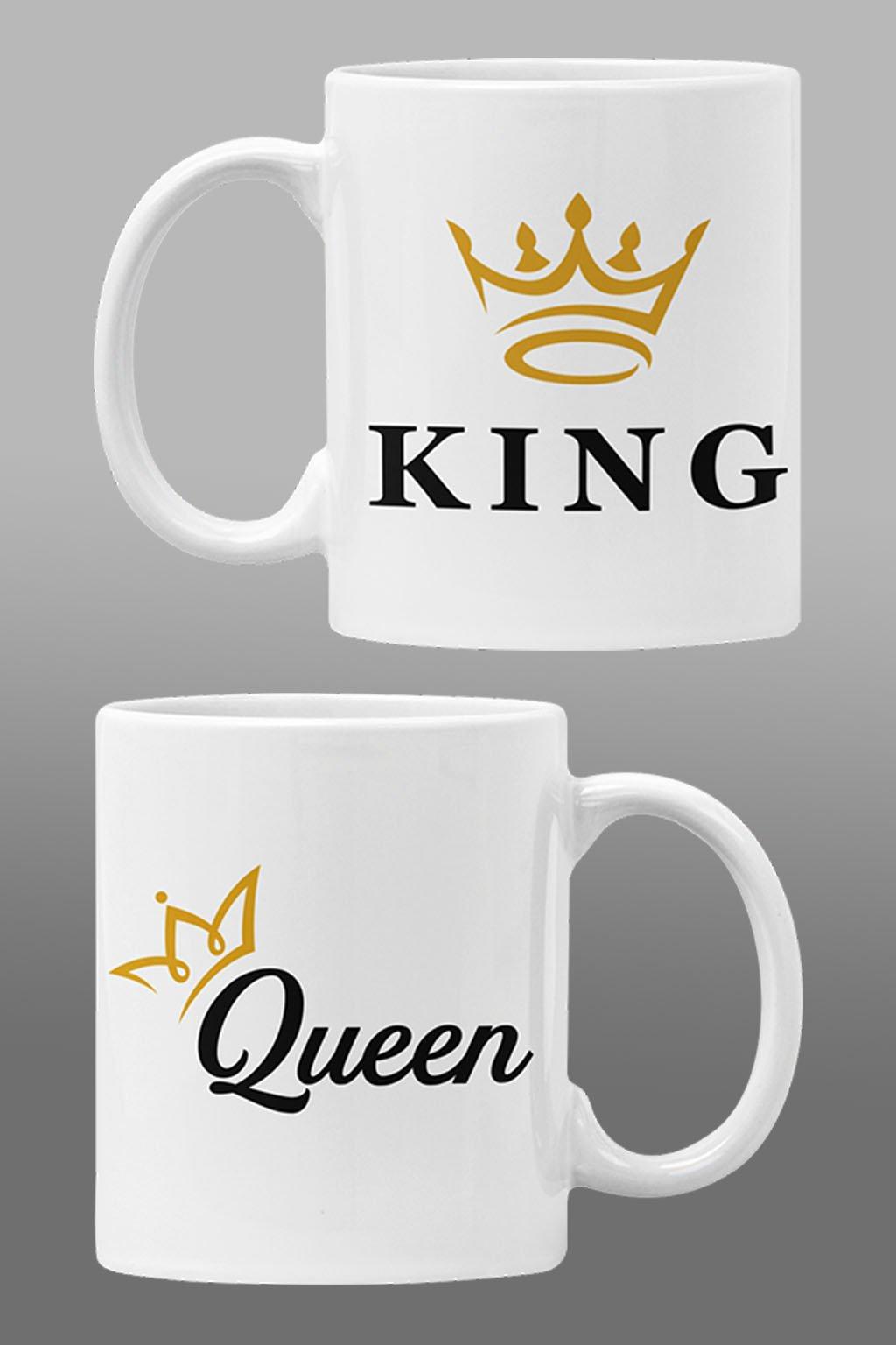 Šálky pre zaľúbených KING/QUEEN