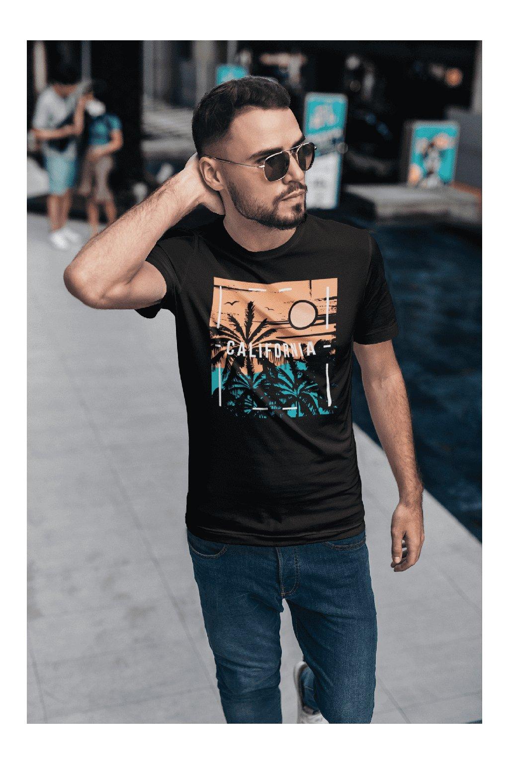Pánske tričko California