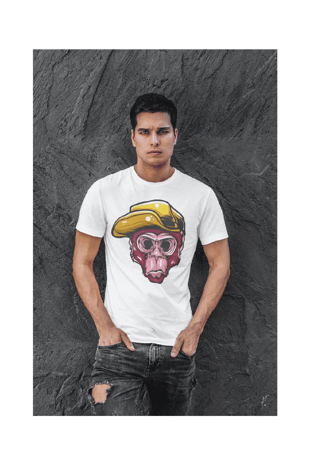 Pánske tričko Opičia hlava