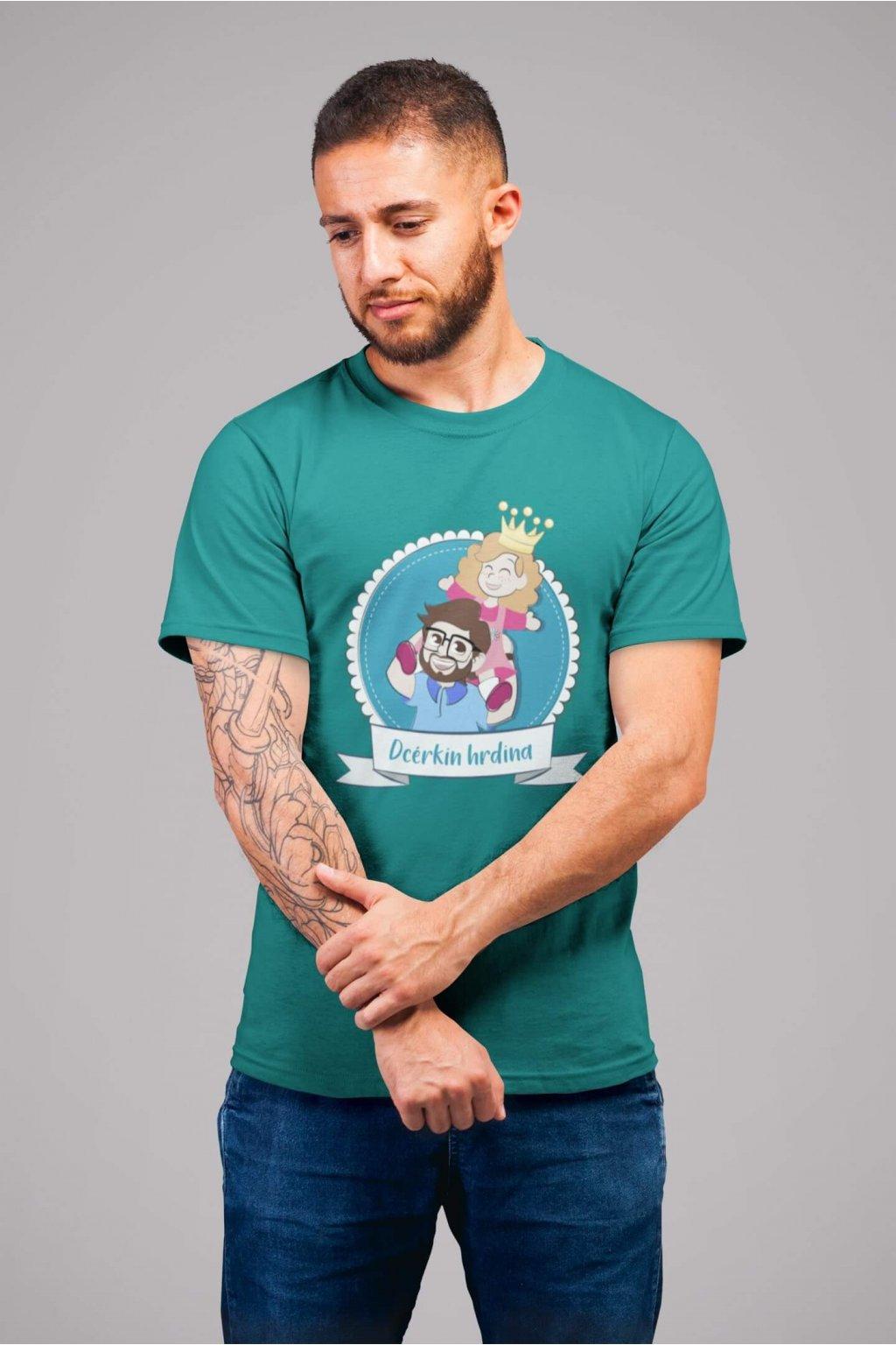 Tričko pre otca Dcérkin hrdina