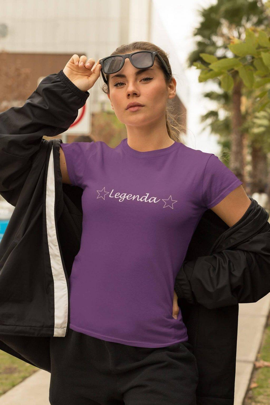 Dámske tričko LEGENDA