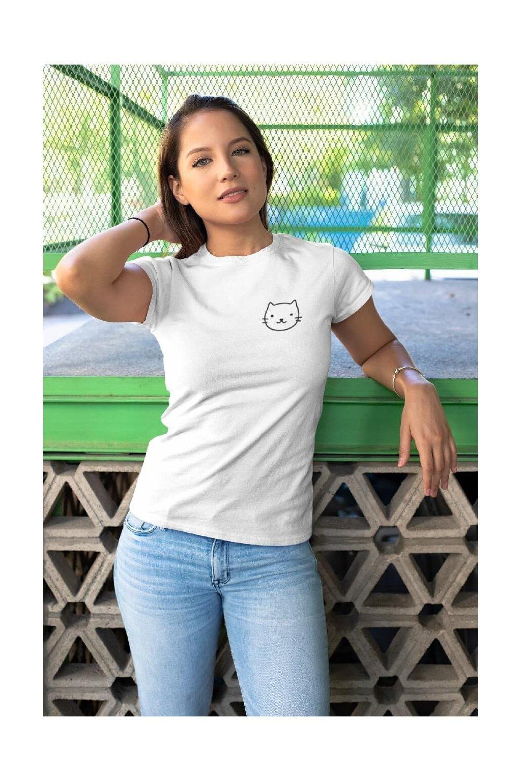 Dámske tričko Mačka