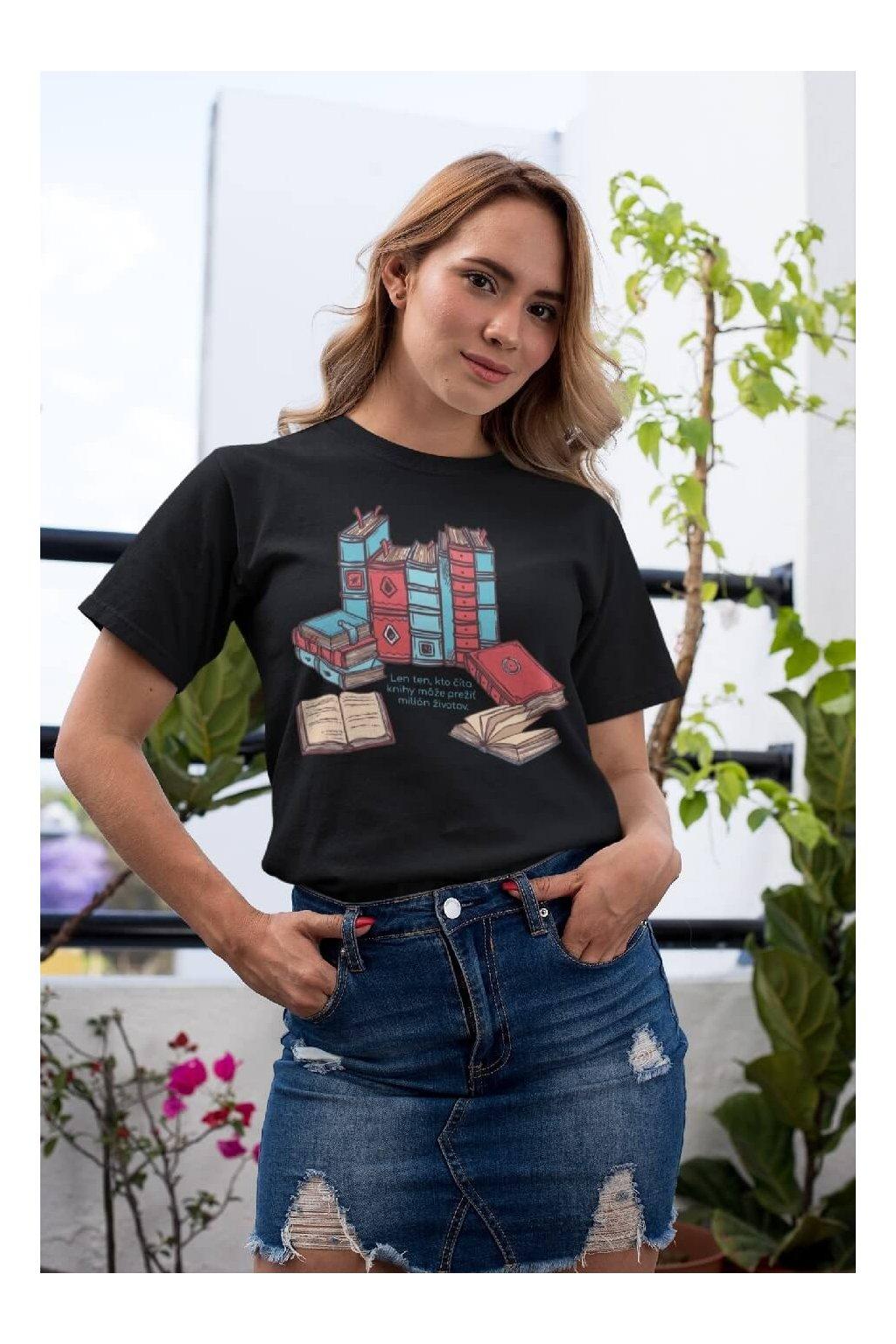 Dámske tričko Milión životov