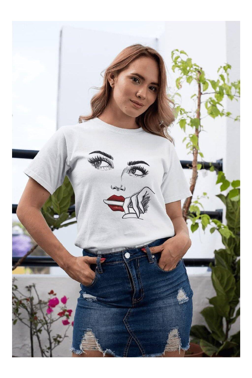 Dámske tričko Prst v puse