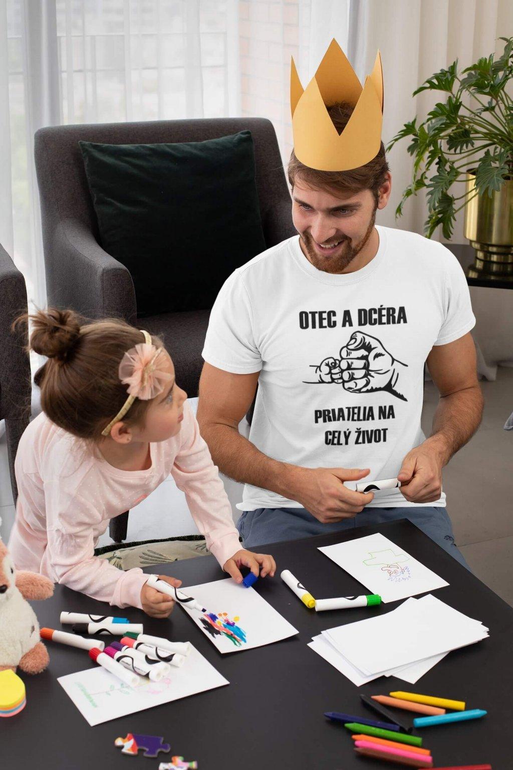 Pánske tričko Otec a dcéra