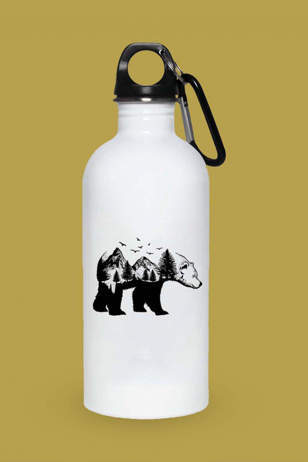 Turistická fľaška Medveď   SuperPotlač.sk