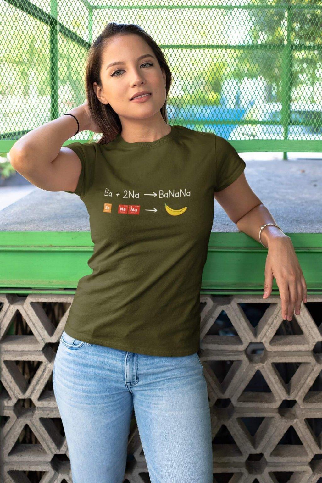 Dámske tričko BANANA