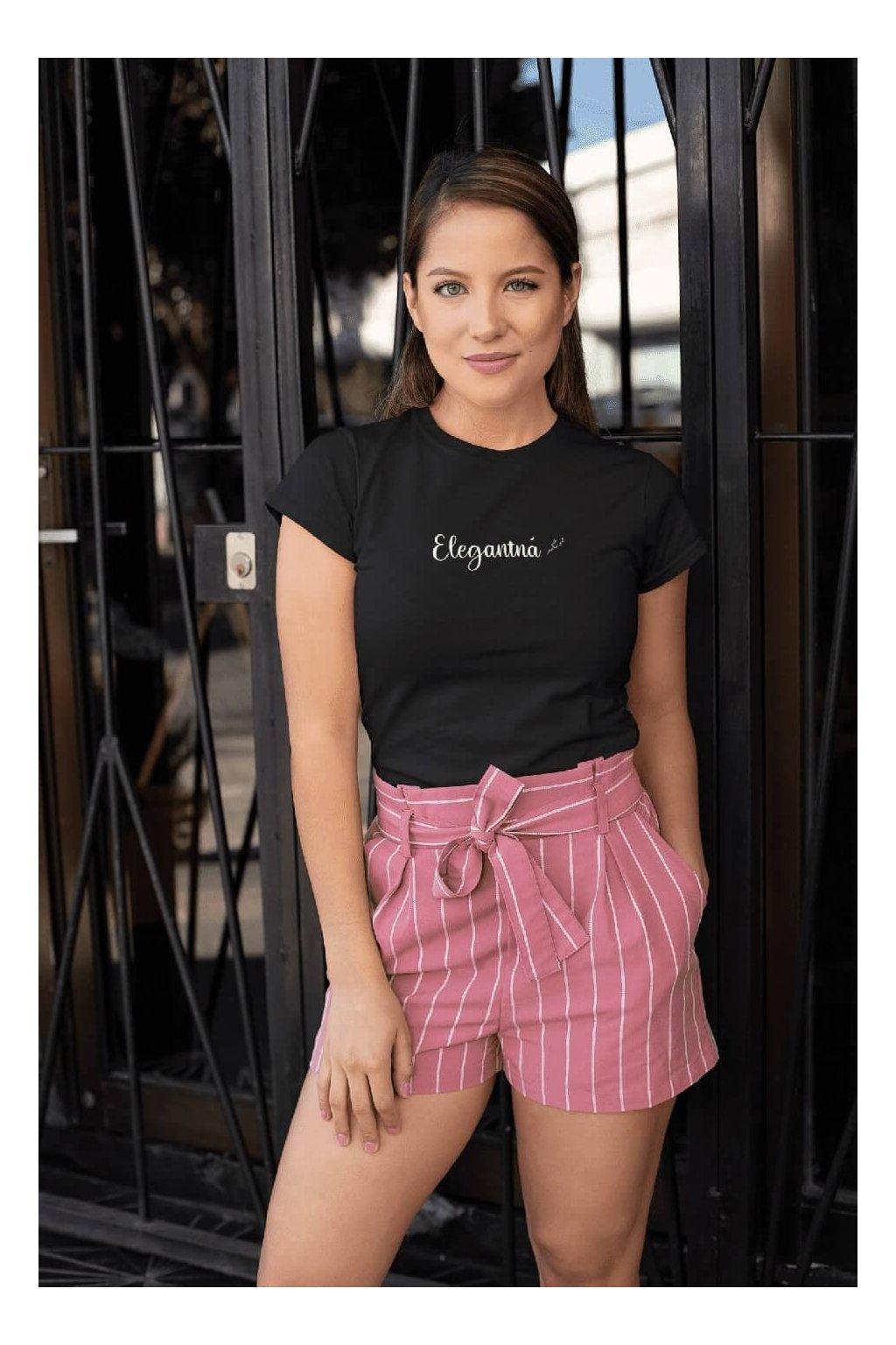 Dámske tričko Elegantná