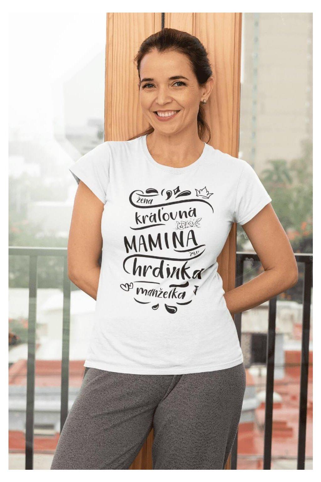 Dámske tričko Mamina
