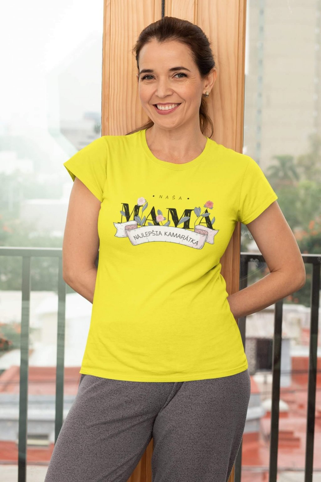 Dámske tričko Naša mama