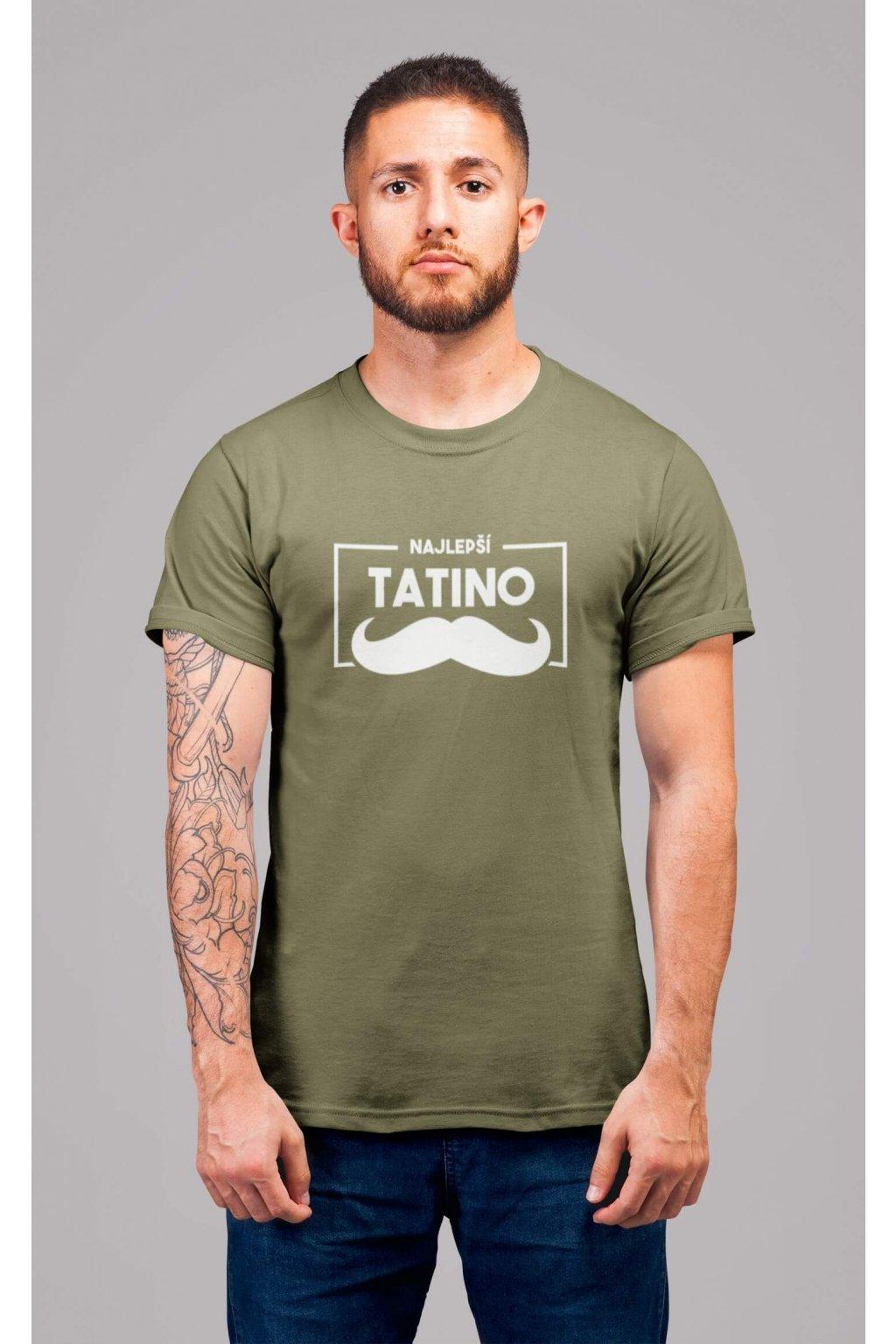 Pánske tričko Najlepší TATINO
