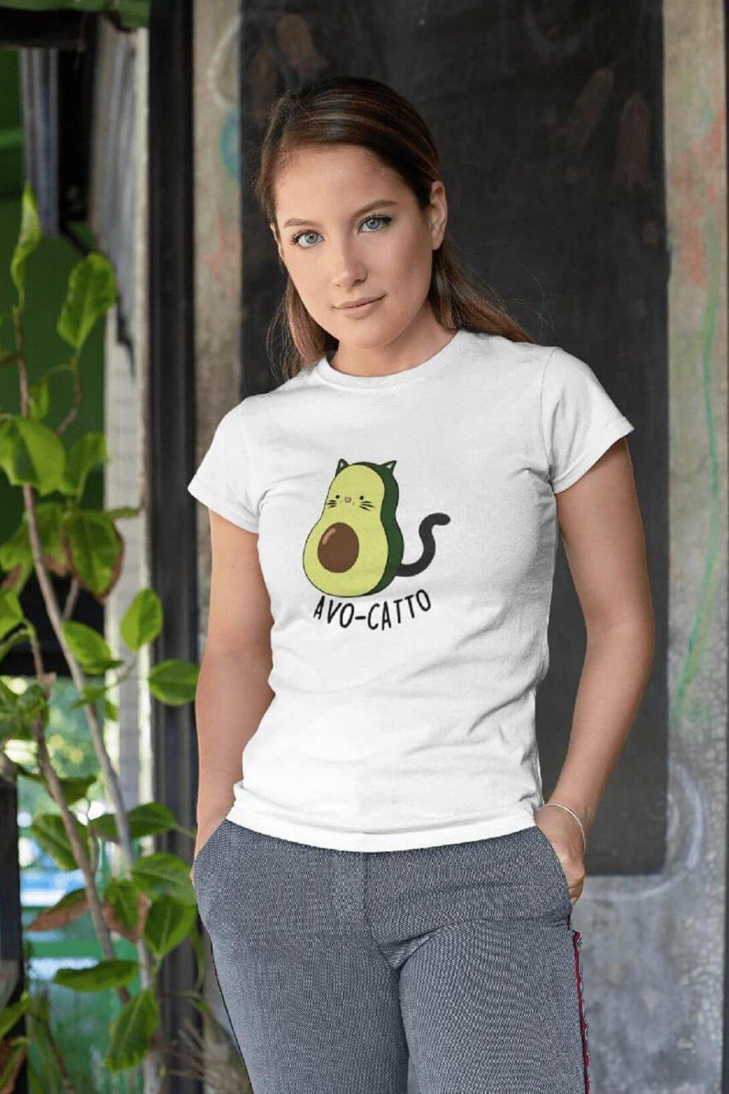 Dámske tričko AVO CATTO