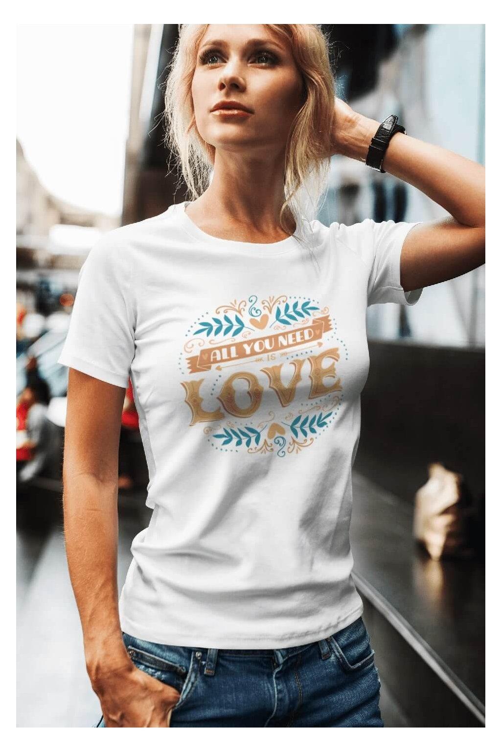 Dámske tričko LOVE