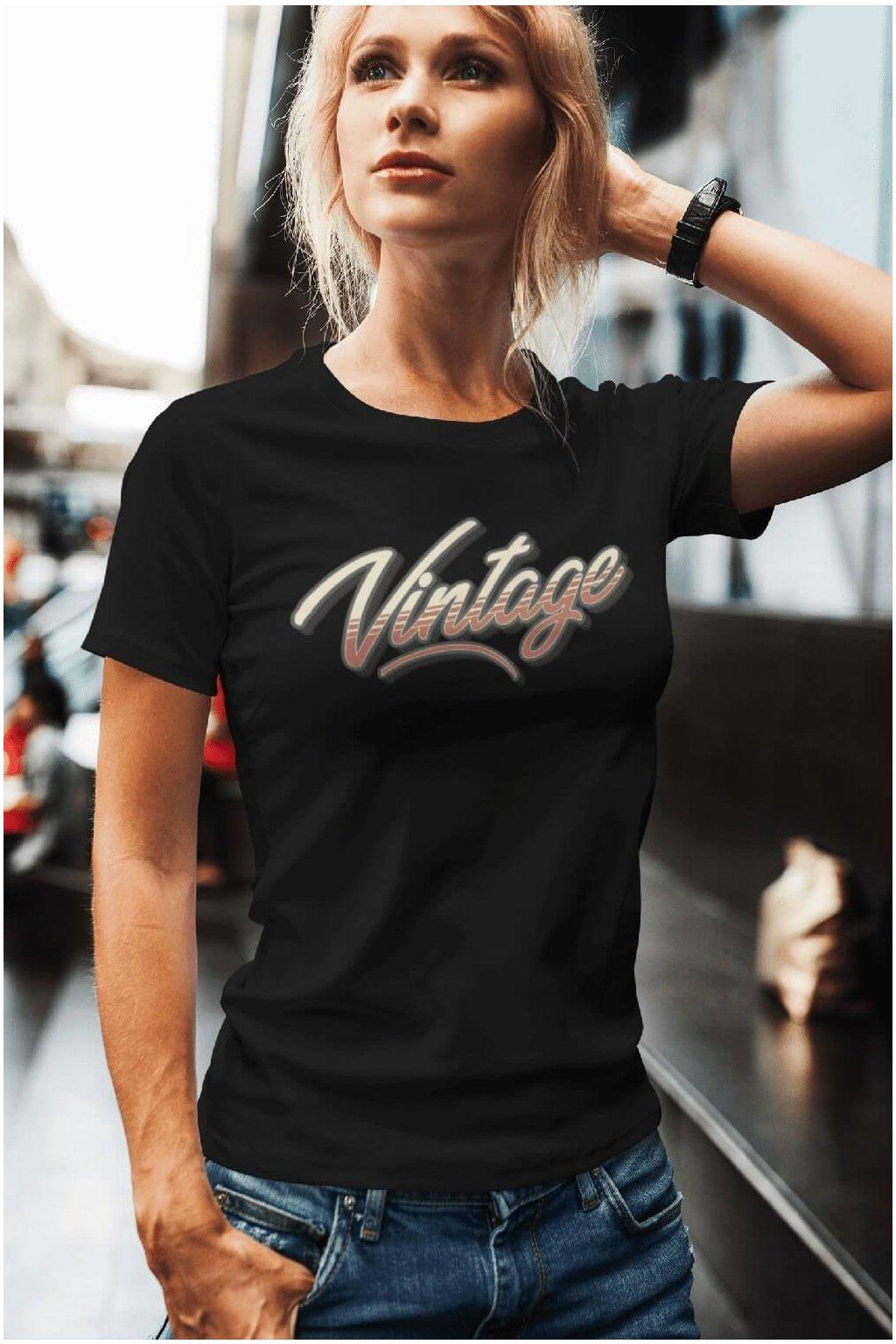 Dámske tričko Vintage