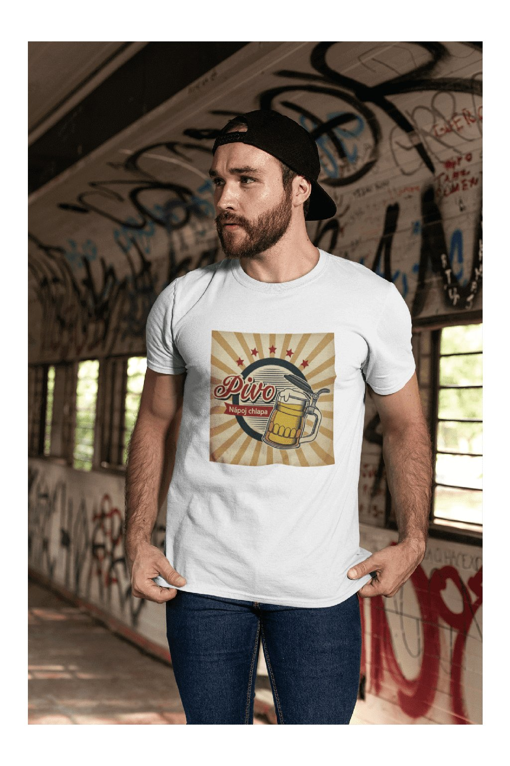 Pánske tričko Pivo - nápoj chlapa