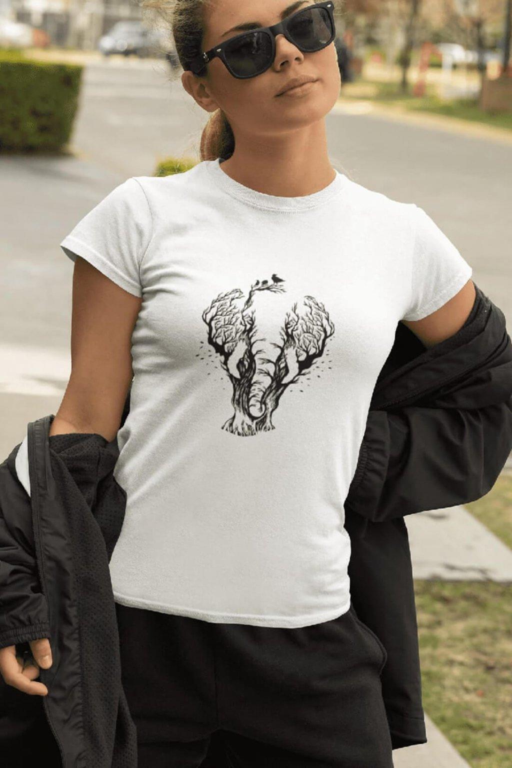 Dámske tričko Slon