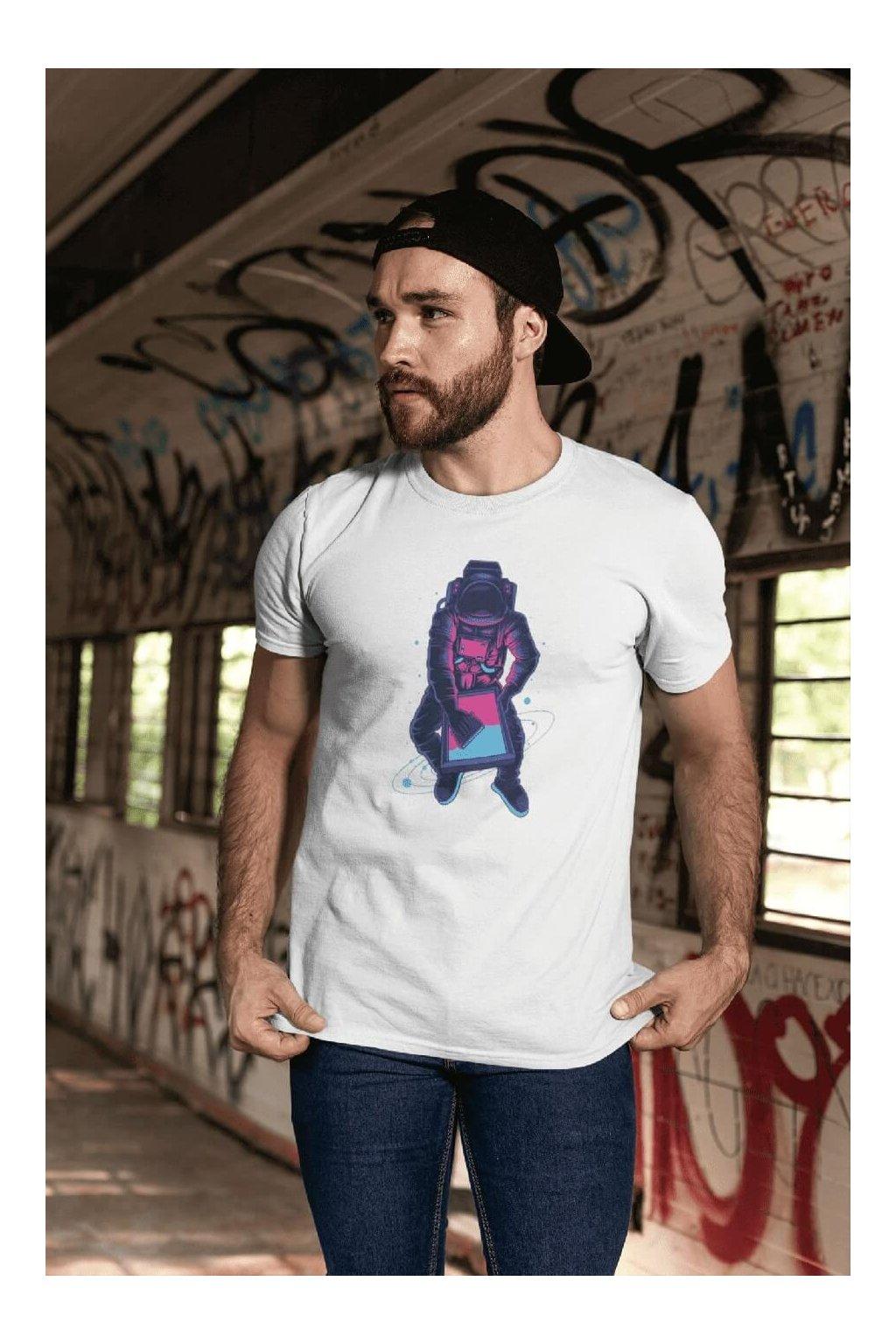 Pánske tričko Astronaut screen