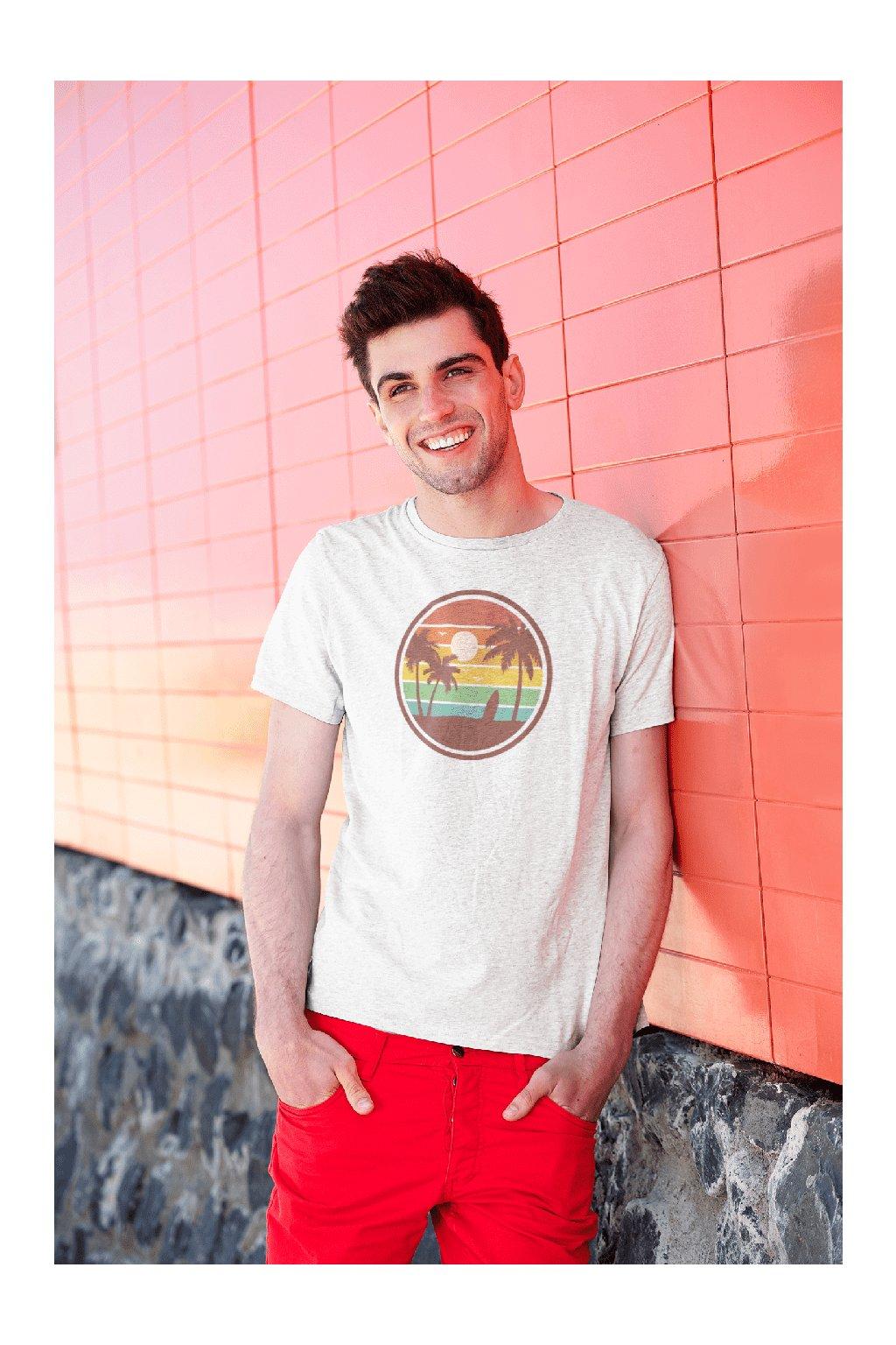 Pánske tričko Pláž