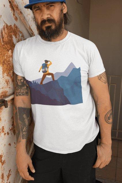 Pánske outdoorové tričko adventure
