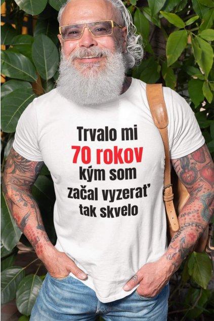 Pánske narodeninové tričko 70 rokov