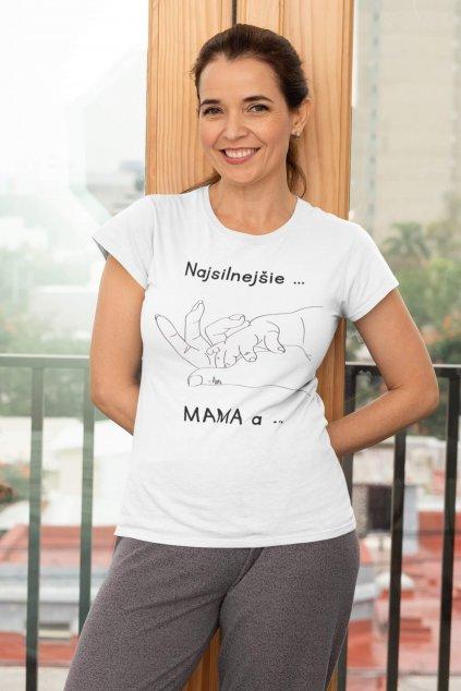 Dámske tričko pre mamu Puto