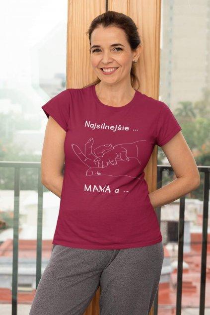 Tričko pre mamu Puto