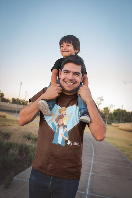 Tričko pre otca Aký otec taký syn