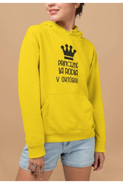 pullover hoodie mockup featuring a woman smiling at a studio 28324 (49)