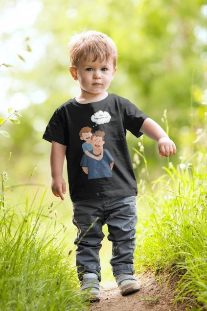 Tričko pre syna Mám najlepšieho ocka