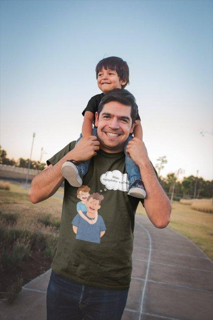 Tričko pre otca Mám najlepšieho synčeka