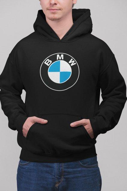 Pánska mikina s logom auta BMW