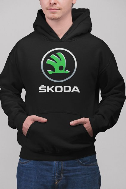 Pánska mikina s logom auta Škoda