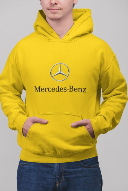 Pánska mikina s logom auta Mercedes Benz