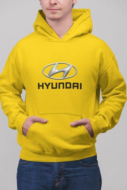Pánska mikina s logom auta Hyundai