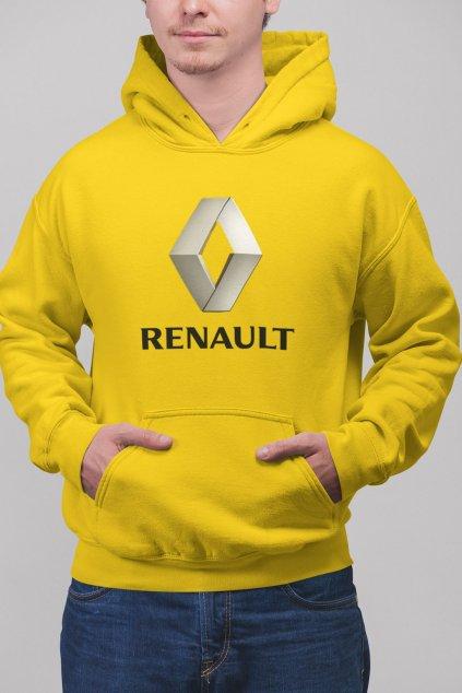 Pánska mikina s logom auta Renault