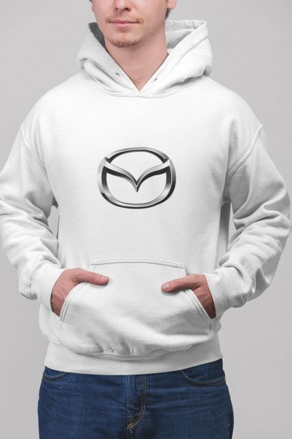 Pánska mikina s logom auta Mazda