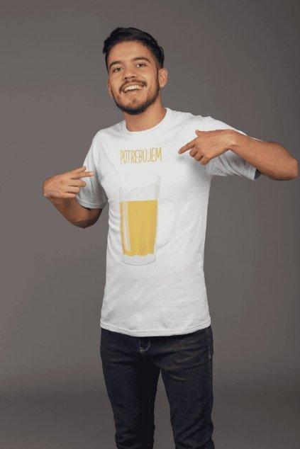 Pánske tričko pre otca Potrebujem