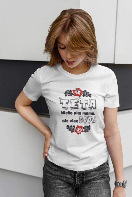 Dámske tričko Pre tetu