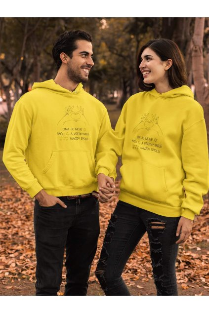 pullover hoodie mockup featuring a couple by brown leaves 31805 (4)