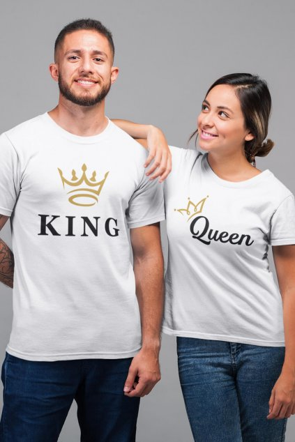 Tričká pre páry KING/QUEEN