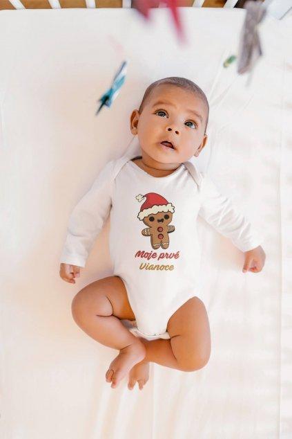 Dojčenské body Moje prvé Vianoce