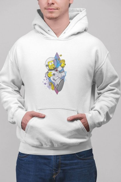 pullover hoodie mockup featuring a blonde man at a studio 23082 (90)