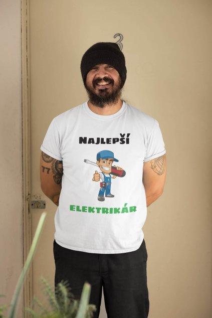 Pánske tričko Najlepší elektrikár