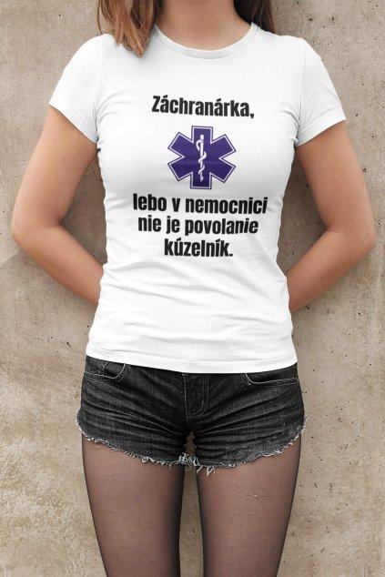 Dámske tričko Záchranárka