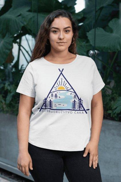 Dámske tričko Dobrodružstvo čaká