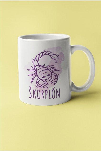 Šálka so znamením Škorpión