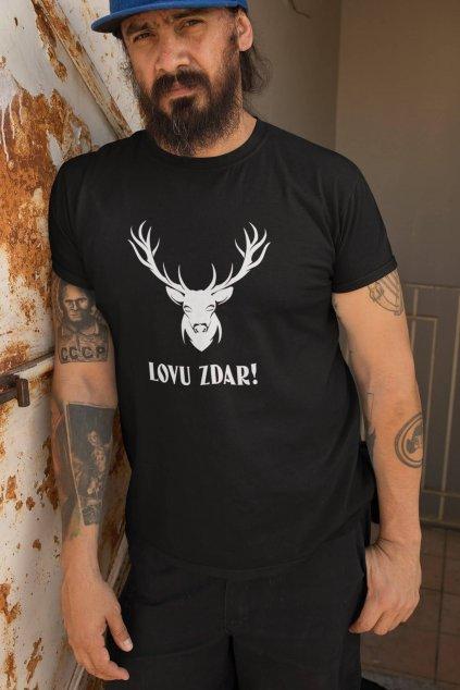 Pánske tričko Lovu zdar