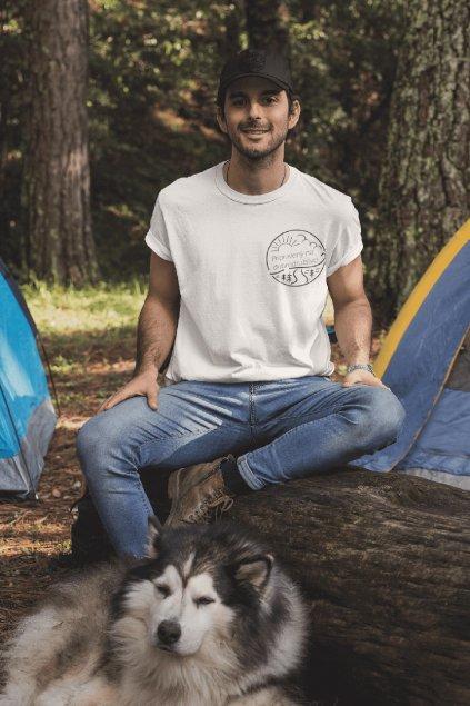Pánske tričko Pripravený na dobrodružstvo