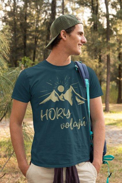 pánske tričko, turistika